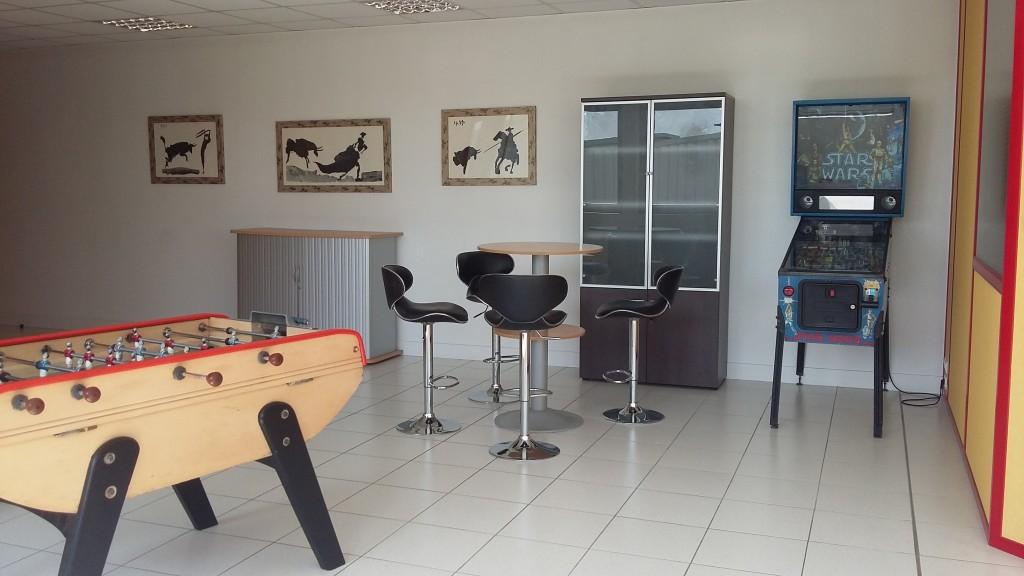 Nouveaux bureaux pour l 39 agence md agence md for Salle de pause au travail
